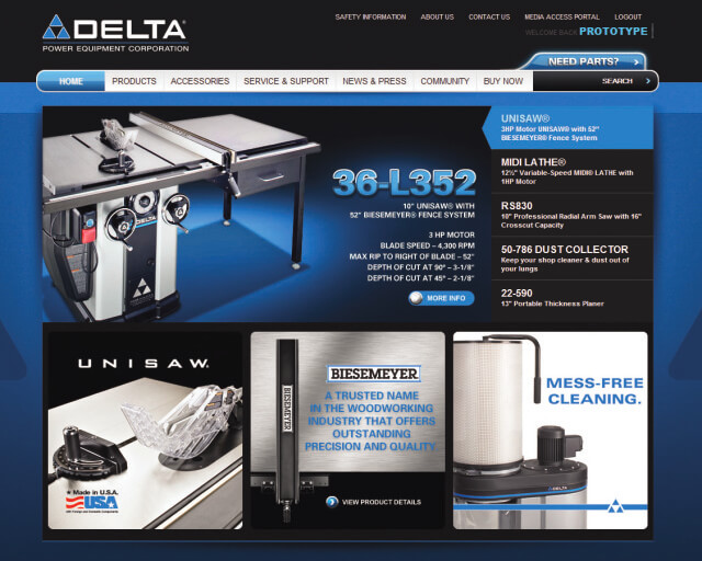 DELTA Power Equipment Corp.