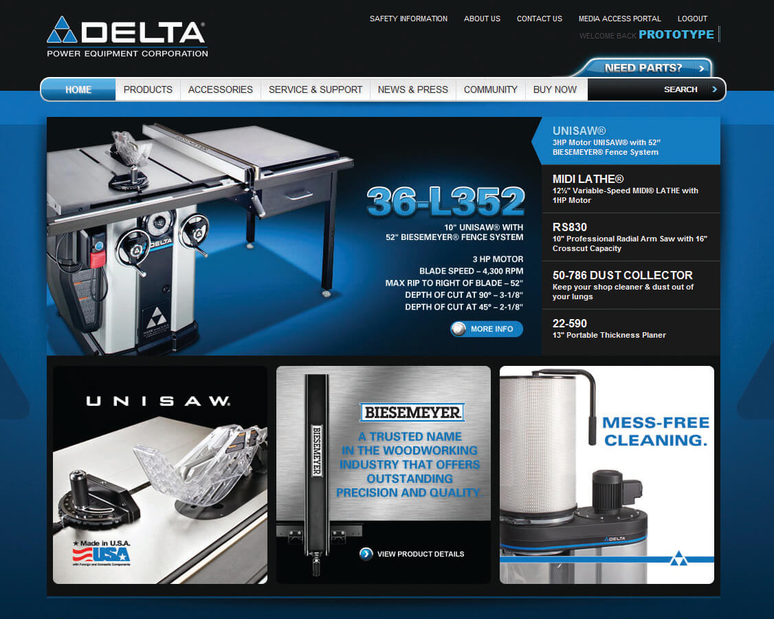DELTA Power Equipment Corp.