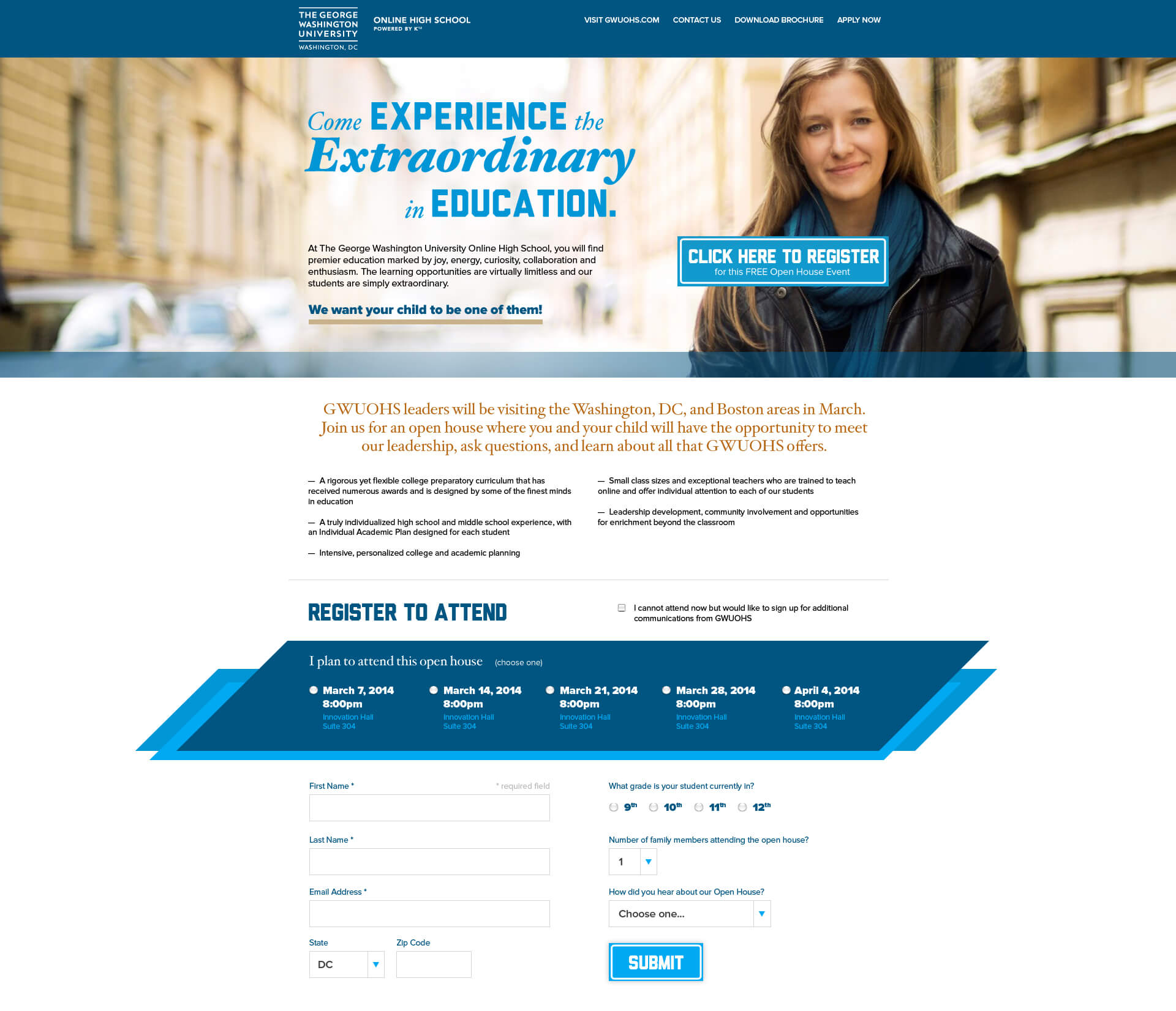 George Washington University Online High School