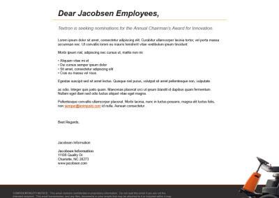 Jacobsen E-Mail Template