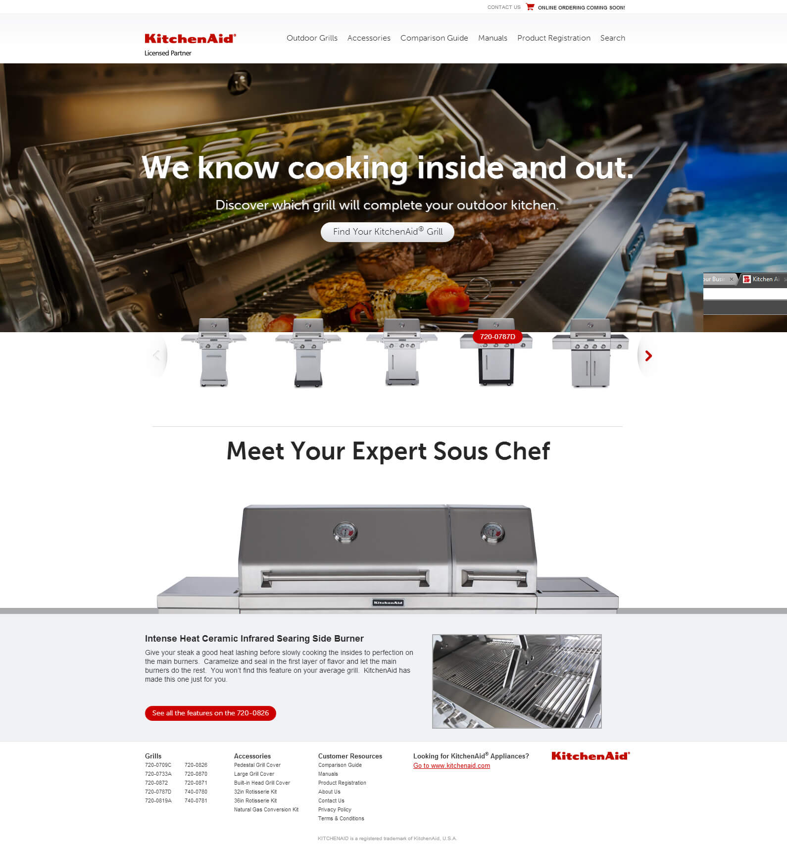 KitchenAid Grills