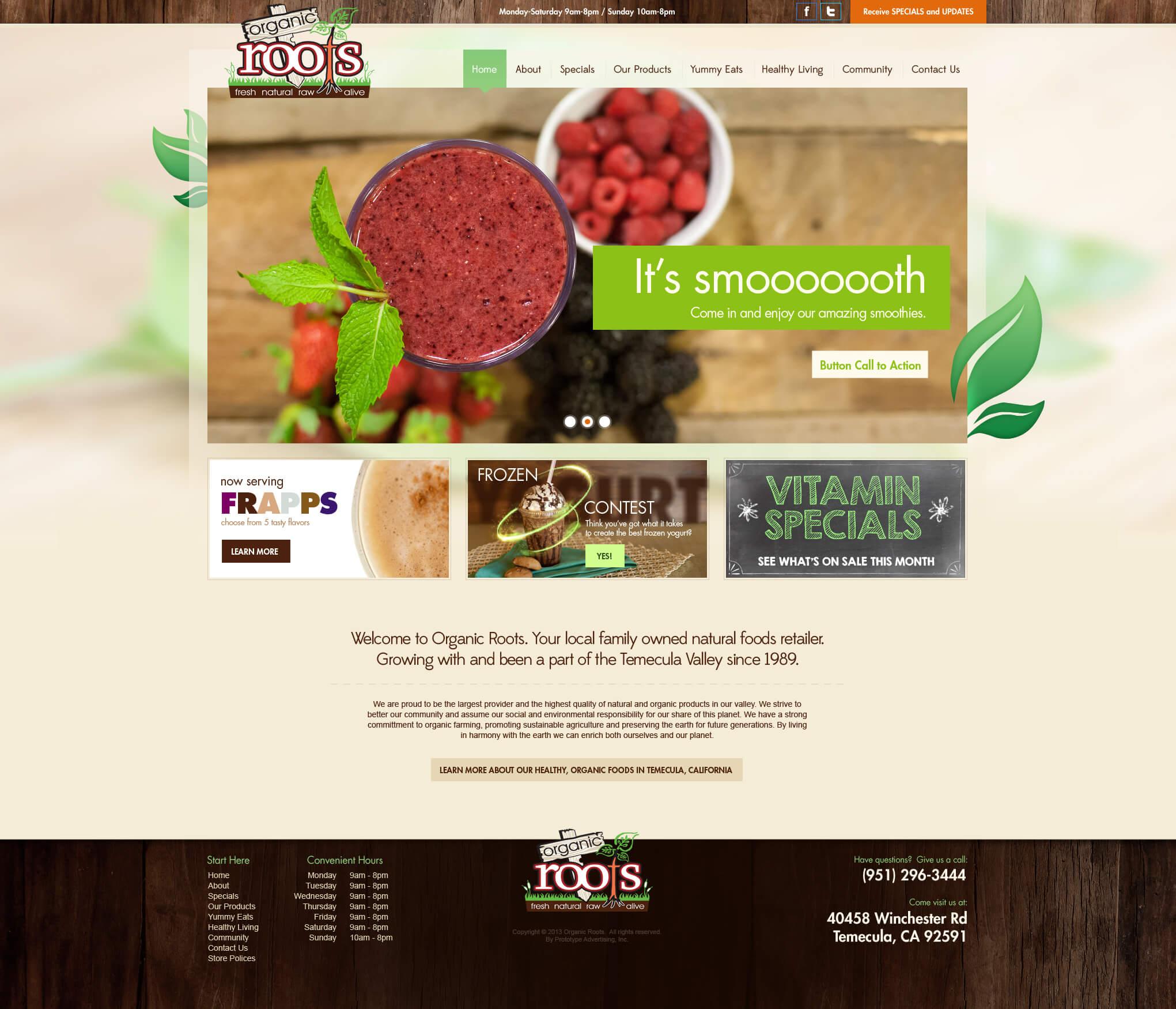Organic Roots
