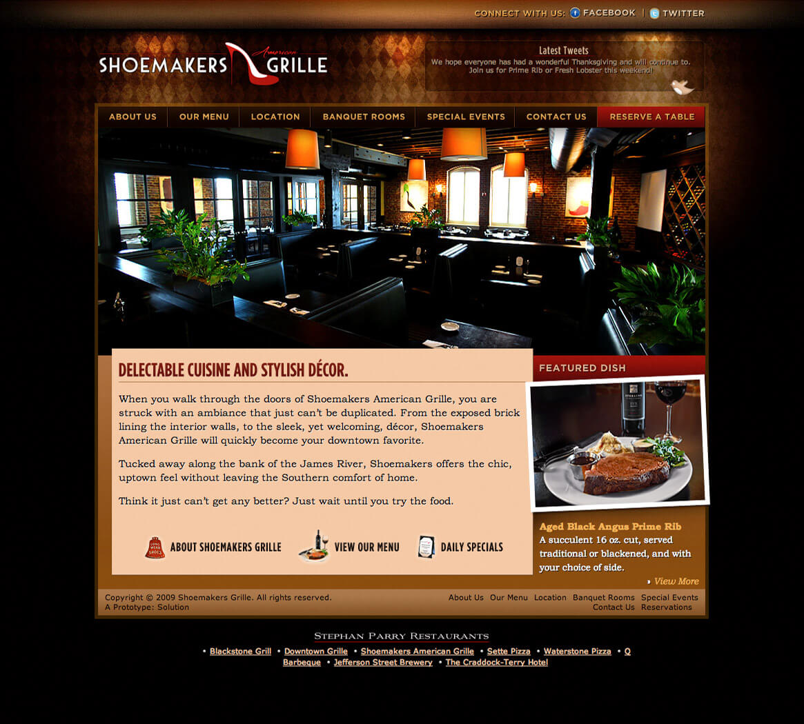 Shoemakers American Grille