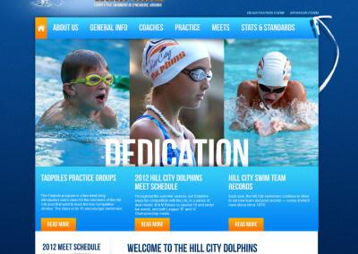 HillCity Dolphins Swim Team